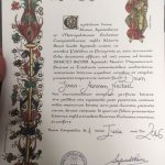 Compostela Urkunde Jakobsweg Pilgerreise