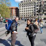 Jakobsweg Kuestenweg mit Sarah in Bilbao
