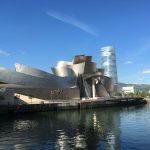 Jakobsweg Kuestenweg beeindruckende Architektur Guggenheim
