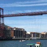 Jakobsweg Kuestenweg Bizkaia-Brücke nach Portugalete