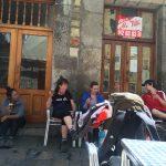 Küstenweg Jakobsweg Laredo Pause Bier