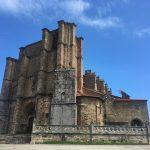 Spanien Jakobsweg mit Kirchen und Bauwerken