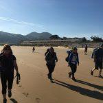 Spanien Jakobsweg Küstenweg Santona Strand